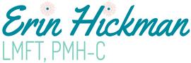 Erin Hickman, LMFT, PMH-C Logo